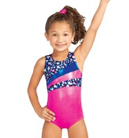 Capezio Stellar Racerback Leotard, Hot Pink