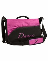 NEW 2013, Energetiks Dance Satchel, Black/Mulberry, DB19