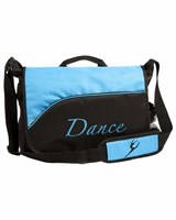 NEW 2013, Energetiks Dance Satchel, Black/Turquoise, DB19