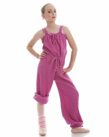 CLEARANCE, Energetiks Ribbed Jumpsuit, Mulberry, Childs, CW10    