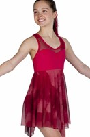 Strut Stuff Harmony Dress, Red/Maroon