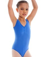 Energetiks Gathered Front Leotard, Child's, (Shiny Look), CL04L 