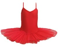 Princess Line Tutu, Larger Sizes, (Budget Range), Red