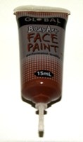 15ml Face Paint, BROWN (discontinued)