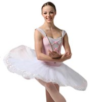 Coppelia Tutu, Pancaked, Girls sizes, Colour: Pale Pink  (As Pictured)