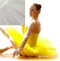 Performance Tutu, Adults Sizes, White (Colour shown in insert)   