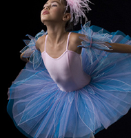Swan Tutu, Pink/Blue, Girls