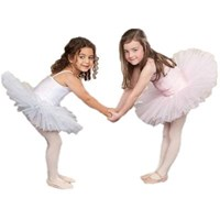 Girls Princess Line Tutu, (Budget Range), Ballet Pink