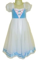 Dutch Maid Dress, Ladies, Blue (As Pictured)   