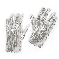 Short Sequin Gloves