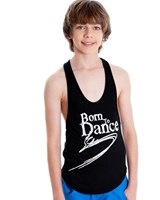 Energetiks Flow Dance Singlet, Boy's, CAT50