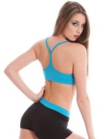 Energetiks Racer Back Crop Top, Adults size, AC56