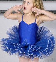 CLEARANCE, Classic Tutus, with contrast edging, Royal blue 
