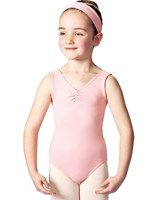 Studio 7 Gathered front Leotard, Girls sizes,  (6 Colours)