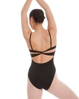 Energetiks Butterfly Back Camisole Leotard, Ladies, AL29
