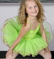 Bright Tutus, with contrast edging 