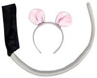 Mouse Headband and Tail