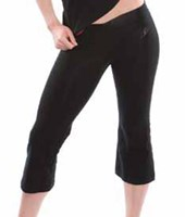CLEARANCE, Energetiks 3/4 V Band Pants, Black, CP01