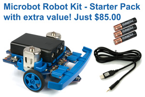 Robot kit - Microbot starter pack