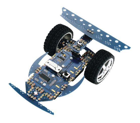The Viper robot kit constructed as a remote control robot