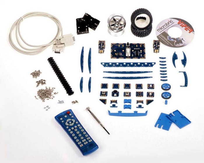 Viper robot kit contents