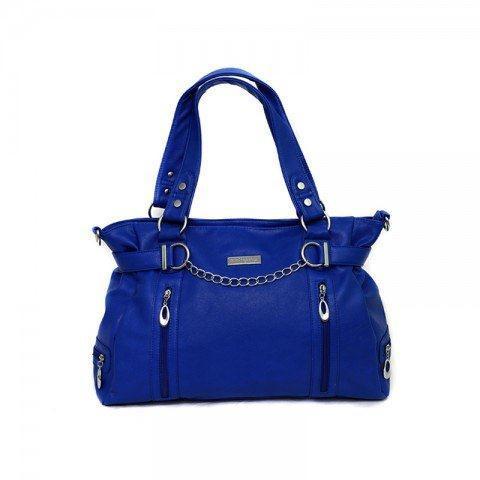 Total Bag Envy - Total Lust Nappy Bag - Cobalt Blue and Dark Brown ...
