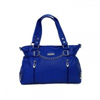Total Bag Envy - Total Lust Nappy Bag - Cobalt Blue and Dark Brown - Free Shipping