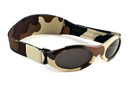 Adventure Baby or Kidz  Banz  Sunglasses Camo Brown
