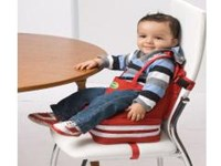 QuickSmart 2 In 1 Booster Seat - Red or Black/Grey