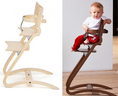 Charming ... Leander Wooden High Chair