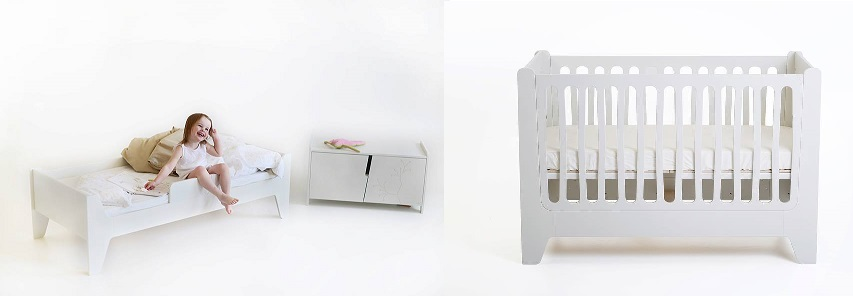 KuKuu white nursery furniture