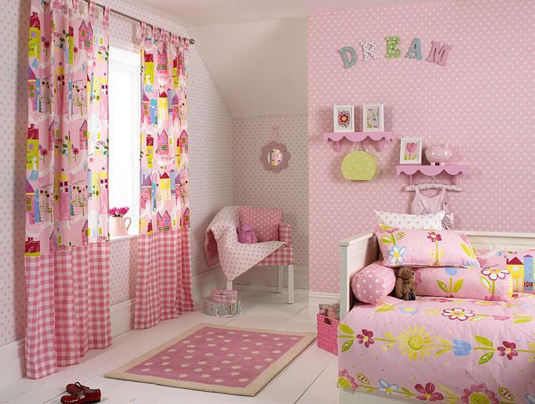 Girls Room Curtain Ideas