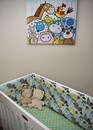 Joe and Mo sheep design organic bedding set