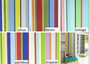 Bright stripe childrens wallpaper