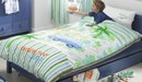 contemporary child's blue single bed SPECIAL OFFER £120 OFF RRP