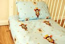 Cowboy cot-bed duvet set