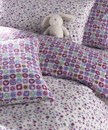 Girls duvet set in reversible Tutti Frutti design