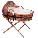 Natural Somerset Willow crib, bedding and stand package