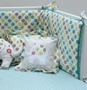 ella and otto lollipop elephant cushion