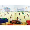Football Room makeover sticker kit REDUCED 25% OFF 