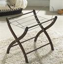 Izziwotnot DARK WOOD MAHOGANY Moses basket stand IN STOCK