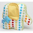 elephant shape nursery cushion