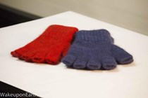 Warm finger less gloves for Gym, Cycle or at the computer