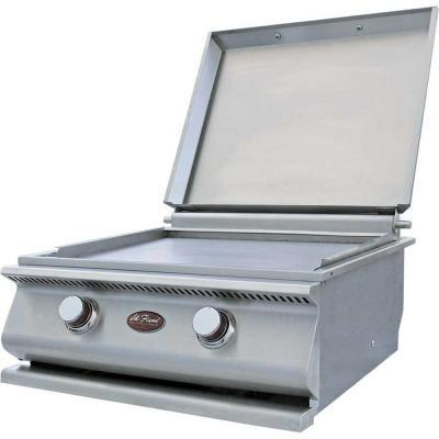 Cal Flame 15 000 Btu Built In Bbq Hibachi Flat Top Grill