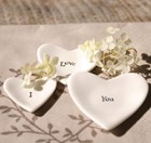 Boxed Porcelain Hearts - Nestled sets