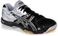 Asics Gel Rocket 6 Men's Squash / Volleyball Shoes, Black / Silver