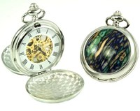 Heathergem Mechanical Pocket Watch