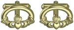 S6412 - Claddagh Cufflinks