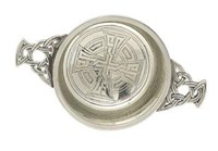 Celtic Cross Quaich - QA30C