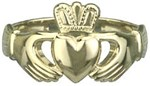 Ladies Heavy Traditional Claddagh Ring
